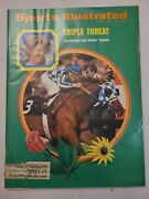 June 11 1973 Sports Illustrated Magazine Horseracing's Triple Crown Threat