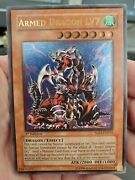 Yugioh Armed Dragon Lv7 Sod-en015 1st Edition Ultimate Rare Lightly Played Lp