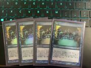 Magic The Gathering M11 Japanese Foil Preordain Lightly Played / Nm Playset