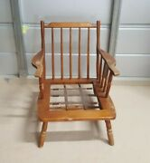 Conant Ball Furniture Lounge Chair Vintage Solid Wood