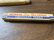 Mongol Long Thin Leads No 4010 Red Lead For Mechanical Pencil Lot Of 40+ F27