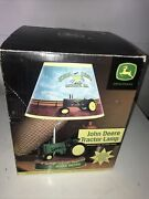 John Deere Tractor Lamp Animated With Real Motor Sound Tested Working