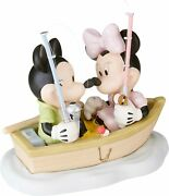 Precious Moments Disney Showcase Mickey And Minnie Mouse 132701bnibhooked On You