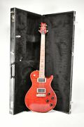 2007 Paul Reed Smith Sc-250 10 Top Scarlet Red Electric Guitar W/ohsc