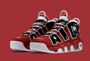 Nike Air More Uptempo And03996 Shoes Hoops Pack Bulls Red Black 921948-600 Menand039s