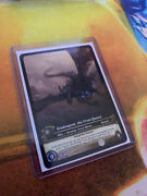 Wow Tcg Extended Art - Sindragosa, The Frost Queen - Rare Employee Only Edition