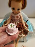 2 Dresses Happy Birthday Cake Book Dog Nosey For 8 Betsy Mccall Doll Look