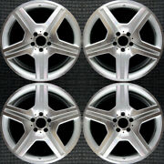 Mercedes-benz Cl Class Machined 19 Oem Wheel Set 2008 To 2011