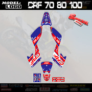 Graphics Kit Decals Stickers Rtb Fits Honda Crf 70 80 100 All Year