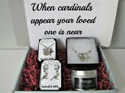 Cardinal Memorial Gift Box When Cardinals Appear Your Loved One Is Near Jewelry