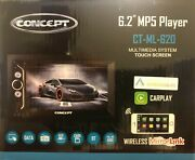 Concept Bluetooth Android Carplay Wireless Mirrorlink Stereo Receiver Ct-ml-620