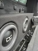 Dc Audio M4 - 12and039s Subs And Custom Box Comes With A Trampas 3k Amp