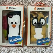📀 Griffin Penguin And Pug Kazoo Kids Case For Ipod Touch 5th And 6th Gen Lot Of 2
