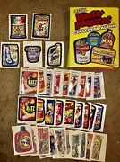 Topps Wacky Packages Ans2 Near Complete Master Set W/album Bonus Tattoos Magnets