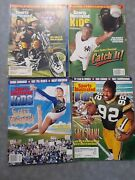 Lot Of 4 Sports Illustrated For Kids Magazines Jeter, Favre, White, + No Cards