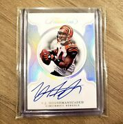 2020 Flawless Tj Houshmandzadeh On-card Auto /20 Bengals