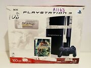Sony Playstation 3 Uncharted Drakeand039s Fortune Bundle 160gb Black Cechp01