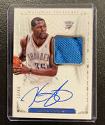 Kevin Durant 2013-14 National Treasures Sneaker Swatches Autographs /60 On Card