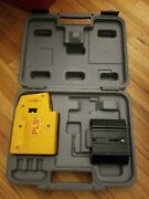 Pacific Laser Systems Pls 5 Laser Level Plumb Square, W/ Hard Case And Accesories