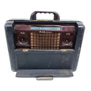 For Repair Parts Admiral Tube Radio 7p33-ul Luggage Portable Thin Man Suitcase