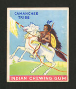 1933 Goudey Indian Gum 19 Warrior Of The Camanchee Tribe First Series Card