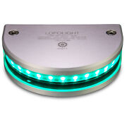 Lopolight 180anddeg Navigation Light - 2nm F/vessel Up To 164and03950m - Green