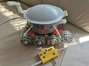 Vintage Old Toy - Very Rare Soviet Cccp - Space Moonrover Lunochod Control '60