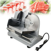 Electric Meat Slicer Stainless Steel Blade Bread Cheese Food Meat Cutter Machine