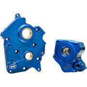 S And S Cycle 0932-0251 Oil Pump With Cam Support Plate - M8 Oil Cooled 310-0998b
