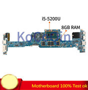 I5-5200u 8gb For Acer S7-392 S7-393 Motherboard 12302-1 48.4lz03.021