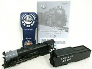 Lionel Ho Scale Santa Fe Berkshire 4100 Coal Tender And Remote From Set 1951030