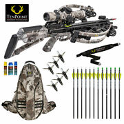 Tenpoint Havoc Rs440 Pro Package - Lighted Arrows Halo Bowpack And More