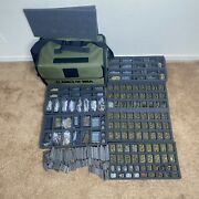 Flames Of War Collection Lot Battle Foam Case Tank Vehicles Infantry Anti Air 4