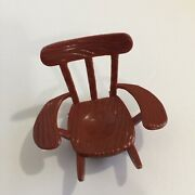 Vintage 1976 Hasbro Weebles Mickey Mouse Club House Rocking Chair