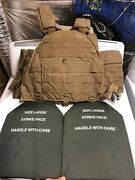 Eagle Industries Usmc Coyote Plate Carrier 3m Ceradyne Front And Back Plates