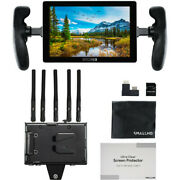 New Smallhd 702 Touch 7 On-camera Monitor With Bolt 4k Receiver V-mount