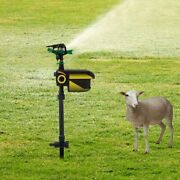 Solar Powered Motion Activated Jet Eco-friendly Animal Repeller Automatic Spray