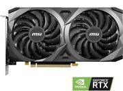 Msi Geforce Rtx 3060 Ventus 2x Oc 12gb Gddr6 Graphics Card [tested For Qc]
