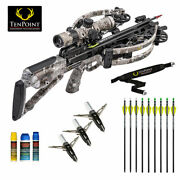 Tenpoint Havoc Rs440 Hunter Package - Lighted Arrows And More - Graphite Gray