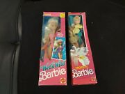 Mattel 1985 Tropical Barbie With The Longest Hair Ever With Wetandwild Skipper