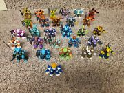 Battle Beasts - Series 1 Complete Set 28 1 To 28 Have Heat Rubs And Weapons