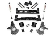 Rough Country 5 Gm Lift Kit W/v2 Shock 14-18 1500 Pu 2wd aluminum/stamped Steel