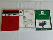 Allis Chalmers 700 Series Lawn And Garden Tractors Reproduction Service Booklets