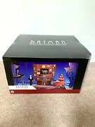Dc Collectibles Batman Animated Batcave Playset With Alfred Action Figure Rare