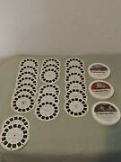 42 Vintage Reels For Viewmaster - Disney Stock 2729 Mickey + 2733+2725+ More
