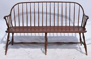 D.r. Dimes Bench Bamboo Settee Bench Made