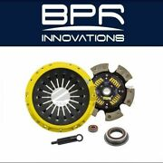 Act For 86-92 Toyota Supra 91-96 Soarer Gt Xt/race Sprung 6 Pad Clutch Kit