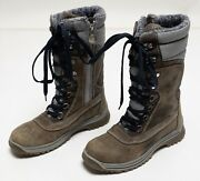 Womenand039s Santana Canada Modena Tall Winter Faux Fur Boots Shoes Side-zip Us 7