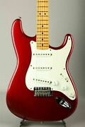 Fender American Vintage 57 Stratocaster Candy Apple Red 1994 Used W/hard Case