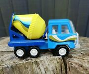 Vintage Ky China Cement Mixer Lorry Truck 1970's Nice Rare Model